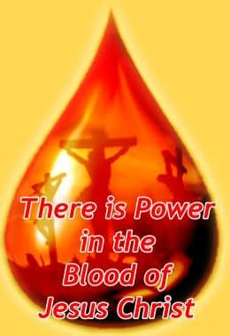 Praying the Blood of Jesus